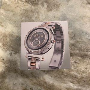 Michael kors smart watch!